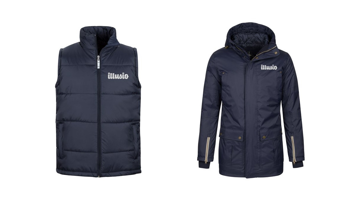 Personalised hooded jackets and waterproof jackets